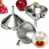 Kitchen 3PC Stainless Steel Funnel Set