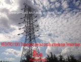 Megatro 110kv Transmission Line Four Circuits Umbrella Type Tension Tower