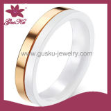 Fashion Ceramic Wedding Jewelry Finger Ring (2015 Gus-Cmr-036)