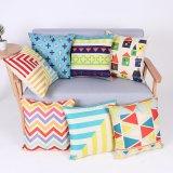 Digital Print Decorative Cushion/Pillow with Geometric Pattern (MX-66)