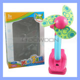 Flexible Mini Clip Fan with Flower Design (Fan-01)