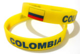 Club Silicone Bracelet with Colombia Logo