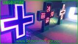 Tri-Color Cross LED