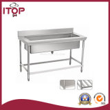 Stainless Steel AISI201 Large Single Sink (LS-S17)