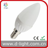 Candle 4W 80lm/W SMD2835 High Lumen RoHS CE C36 LED Bulb