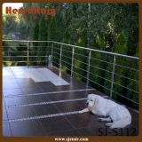 Stainless Steel Cable Railing Steel Balustrade (SJ-S112)