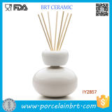 Elegant White and Red Ceramic Fragrance Diffuser Hot Sale