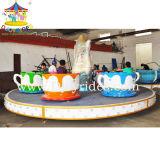 Fairground Rides Amusement Euipment Kids Rotary Coffee Cups (DJ-CC004)