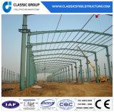 Prefab Steel Structure Metallic Workshop/Warehouse with Sandwich Panel