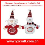 Christmas Decoration (ZY15Y074-1-2) Christmas Snowflake Knitted Item