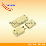 """STANDART CONNECTOR MOD. TYPE """"S/R"""" FEMALE THERMOCOUPLE PIN SOLID GREEN COLOR"""
