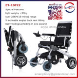10′′ E-Throne Folding Lightweight Mobility Aid Power Brushless Electric Wheelchair, Mobility Scooter with Lithium Battery