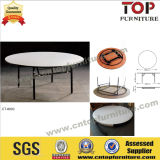 Hotel Round 6FT Plywood Banquet Table with PVC