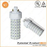 UL Listed Gx24D 2 Pin 1200lm 12W LED Corn Lamp
