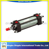Water-Proof Improved with Through Bore Double Effect Pneumatic Cylinder