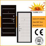 Security Steel Teak Solid Wood Door for Turkey (SC-A213)
