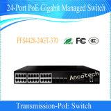 Dahua 24-Port Poe Gigabit Managed Switch (PFS4428-24GT-370)