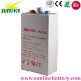 Opzv2-200 2V200ah Solar Battery Opzv Tubular Gel Battery for Solar