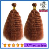 Wholesale Good Quality Wavy Style Virgin Remy Bulk Hair
