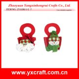 Christmas Decoration (ZY11S81-1-2) Christmas Handbag Hanging Bag