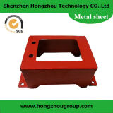 High Quality Precision Metal Enclosure with Red Color Coated