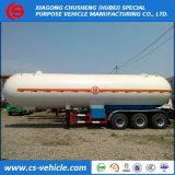 Nigeria Triaxle 20t LPG Gas Trailer 50000liters LPG Tanker Trailer
