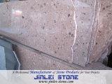 Natural Polished Desert Red Granite Stone Flooring Tile