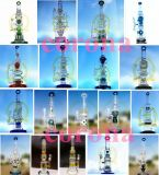 OEM/ODM Straight Tube Oil DAB Rig Recyclers Glass Smoking Water Pipe with Factory Price