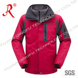 Waterproof and Breathable Ski Jacket for Winter (QF-666)