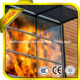 Clear Fire-Rated Tempered Glass with CE/ISO9001/CCC