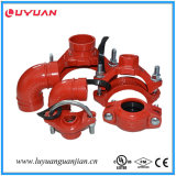 Grooved Pipe Fittings Rigid Coupling for Fire Sprinkler Systems with UL Listed