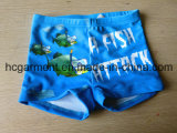 Casual Summer Blue Printed Leisure Board Shorts for Kids/Boy, Swimwear