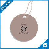 Hangzhou Qiudie Personalized Print Paper Hang Tag with Free Design