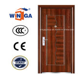 Ce Hot Sale Metal Security Exterior Steel Door (W-S-87)