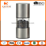 Brushed Stainless Steel Manual Salt and Pepper Mill