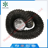 Black Combi PVC Felxible Duct OEM