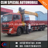 Hotsales 8X4 Dongfeng 8ton Kuckle Crane Truck with Crane