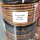 "1/4"" Inch W. P 20 Bar Flexible Rubber and PVC LPG Gas Hose/Tube"