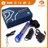 Euro Market Flashlight Aluminum Solar LED E Cig Flashlight Mod