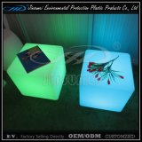 RGB Rechargeable Plastic Color Changing LED Cube