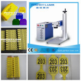 20W 30W 50W Portable Mini Fiber Laser Marking Machine for Ear Tag Plastic