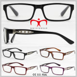 Ladies Fashion Reading Glasses with Metal Decoration (WRP608695)
