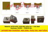 Chromium Carbide Hammer Tips for Sugar Mill 90X90