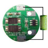 3.6V PCM 5A PCB Design for 18650/18500 Battery