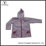 Cute Toddler Girl Raincoat Pink PVC Rain Jacket