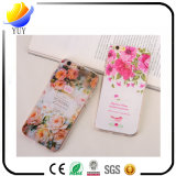 2017 New Design TPU Relief Rose Flowers Mobile Phone Case for iPhone (YUY-PL-A11)