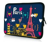 "Fashion Neoprene Sleeve Case Bag Cover for 10"" 12"" 13"" 14"" 15"" 17"" Laptop Notebook"
