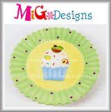 Custom Brand Eco-Friendly Cake Design Ceramic Candy Plate and Dish