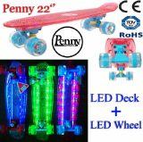 Clear Deck Cruiser Mini Board Skateboard