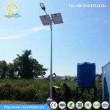 Solar Street Light Pole with LED Illumination 130-150lm/W